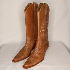 MATISSE  Brown Cowgirl Boots Sz 7.5M